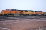 BNSF 6407 leads BNSF 8918 and BNSF 6379 on a mty coal train.
